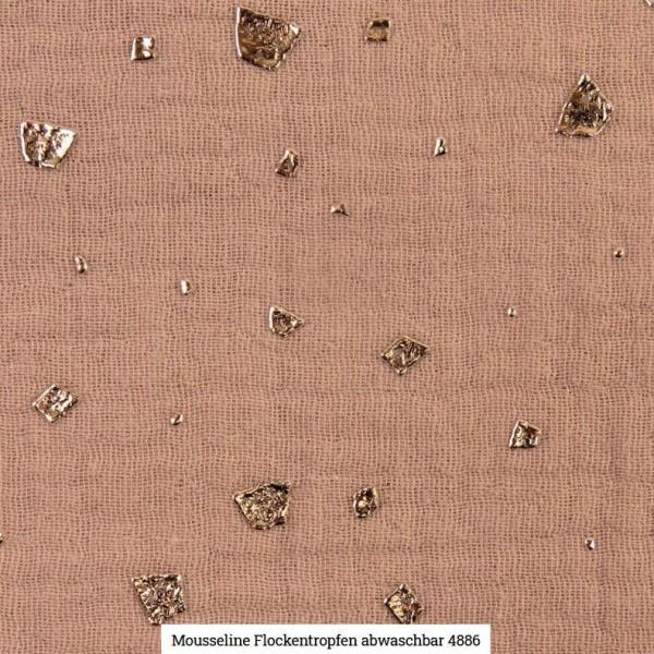 Musselin Flocken Glitter Artikelnr.:SL4886-1511
