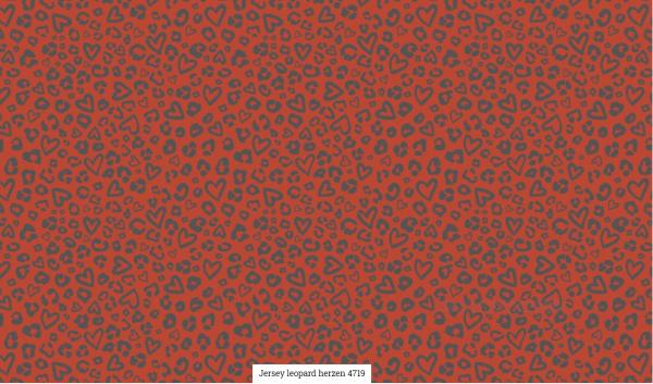Jersey Leopard Herzen Artikelnr.:SL4719-1338
