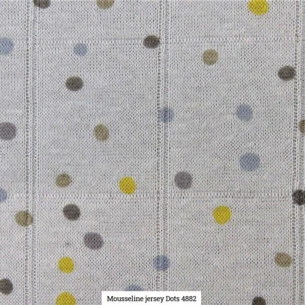 Musselin Druck Dots Artikelnr.:SL4882-1462