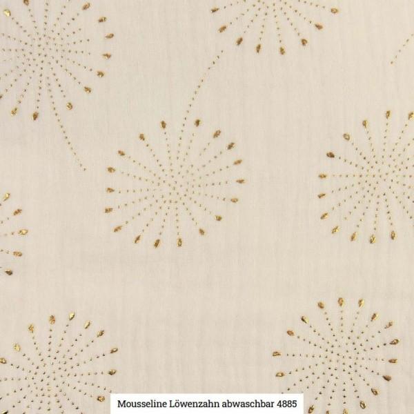 Musselin Pusteblume Glitter Artikelnr.:SL4885-51