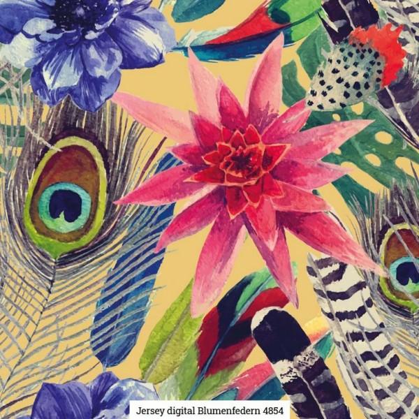 Jersey Digital Flora Artikelnr.:SL4854-1634