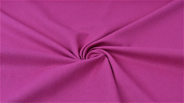 Washed Canvas Uni Fuchsia
