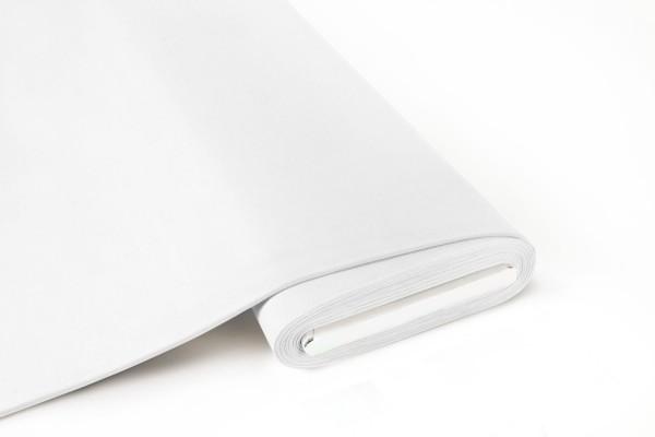 BIO Jersey Soft Touch Uni Weiß