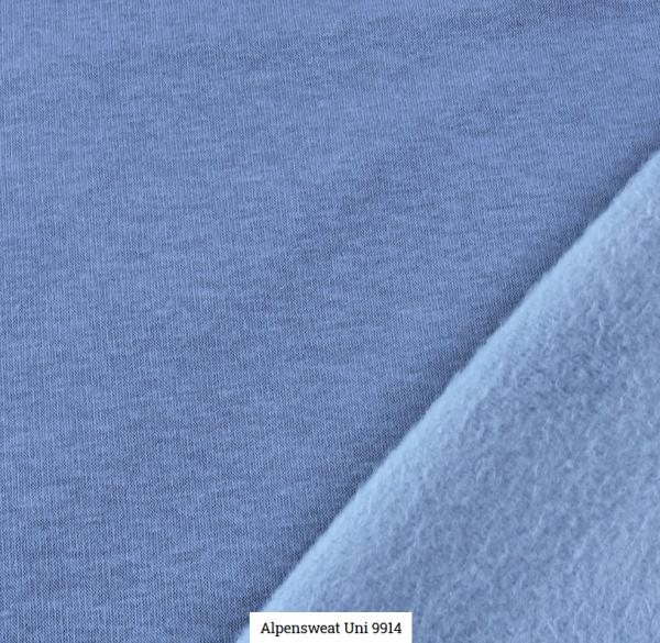 Alpensweat Uni Jeansblau Artikelnr.:SL9941-401