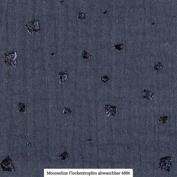 Musselin Flocken Glitter Artikelnr.:SL4886-1107