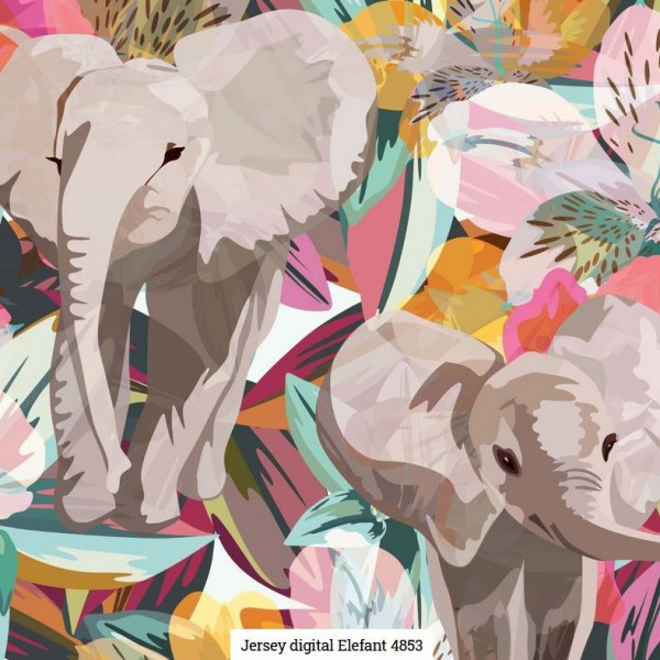 Jersey Digital Elefant Artikelnr.:SL4853-621