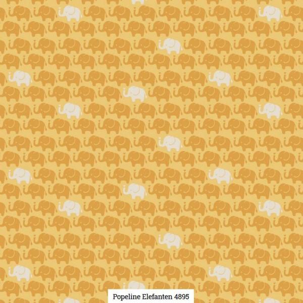 Popeline Druck Elefanten Artikelnr.:SL4895-1634