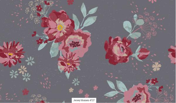 Jersey Blumen Artikelnr.:SL4727-68