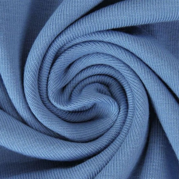 Jersey Uni Jeansblau Artikelnr.:1157-401