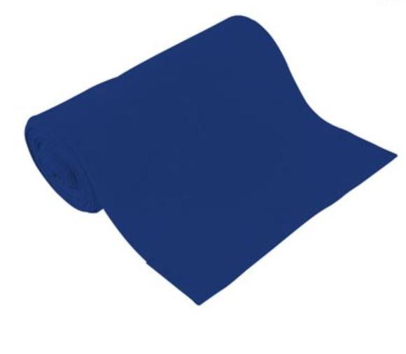 BIO Bündchen Uni Royalblau