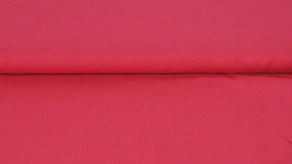 Voile Baumwolle Uni Fuchsia