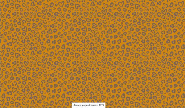 Jersey Leopard Herzen Artikelnr.:SL4719-1034