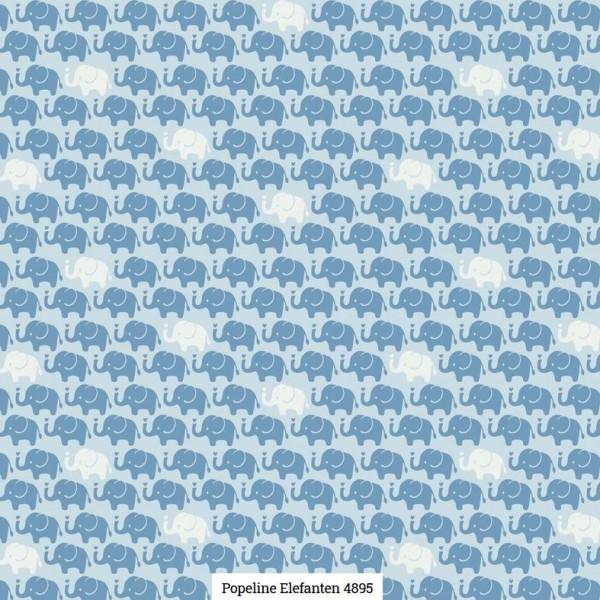 Popeline Druck Elefanten Artikelnr.:SL4895-1601
