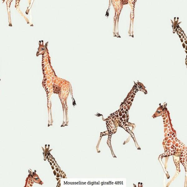 Musselin Digital Giraffe Artikelnr.:SL4891-51