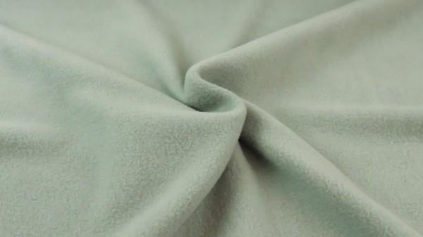 Baumwollfleece Altgrün