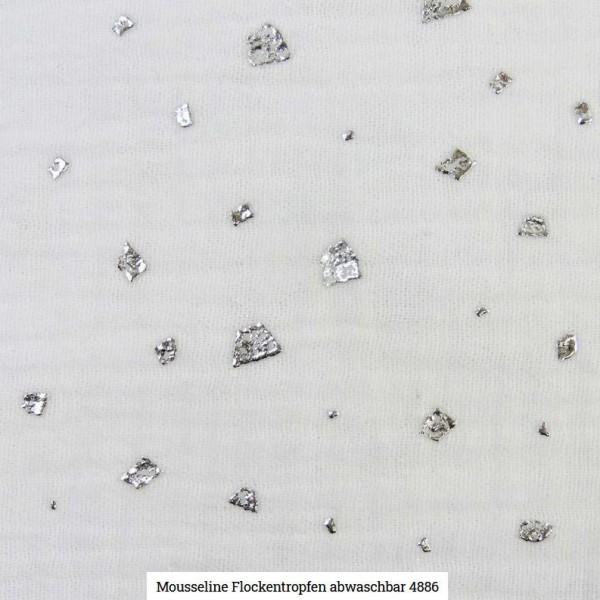 Musselin Flocken Glitter Artikelnr.:SL4886-50