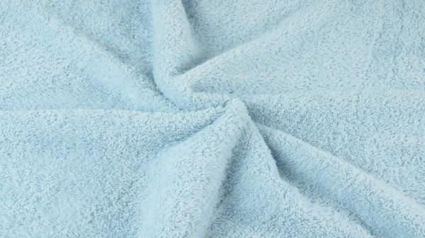 Frottee Uni Hellblau
