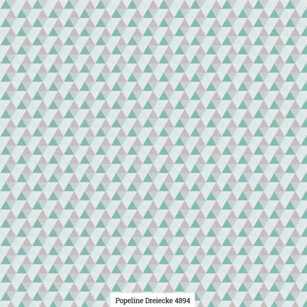 Popeline Druck Dreiecke Artikelnr.:SL4894-1607