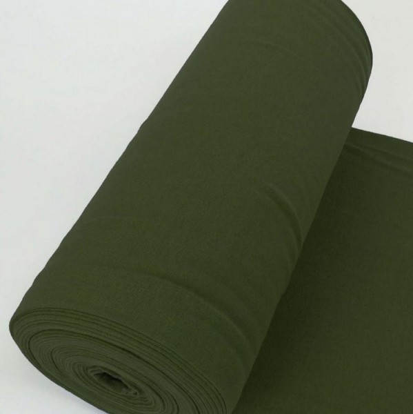 Bündchen Uni Armeegrün Artikelnr.:1191-28