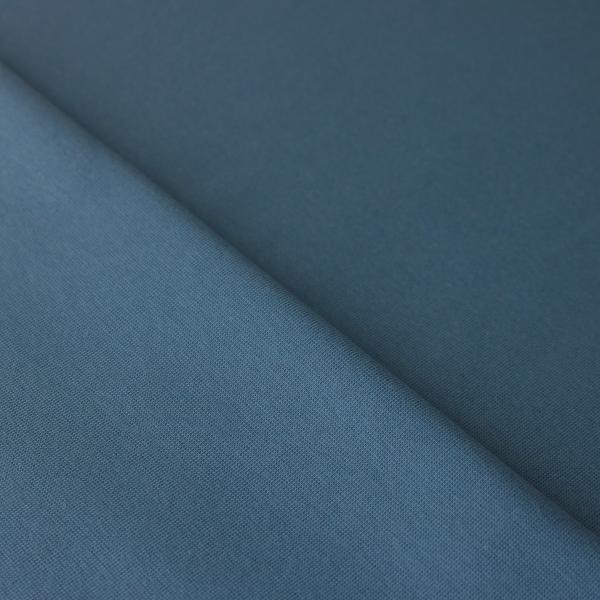 Bündchen Uni Jeansblau