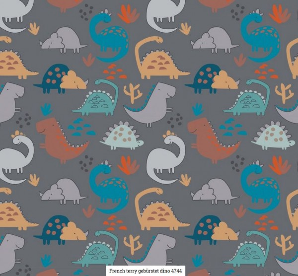 FT-Brushed Druck Dino Artikelnr.:SL4744-68