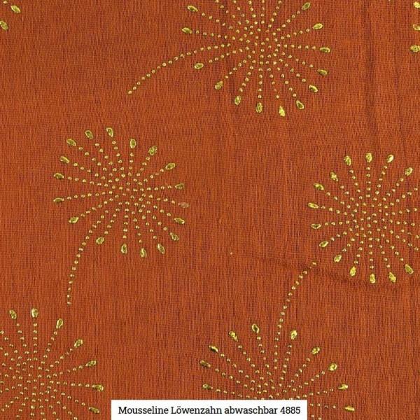 Musselin Pusteblume Glitter Artikelnr.:SL4885-1338