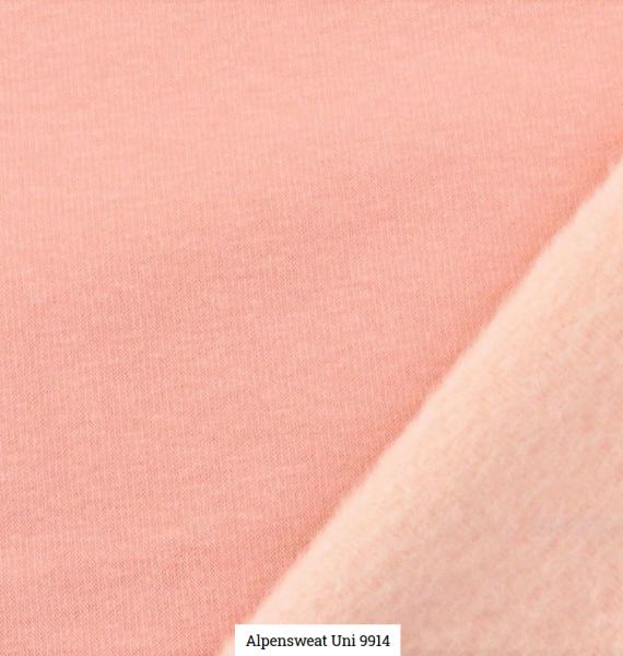 Alpensweat Uni Altes Rosa Artikelnr.:SL9941-1413