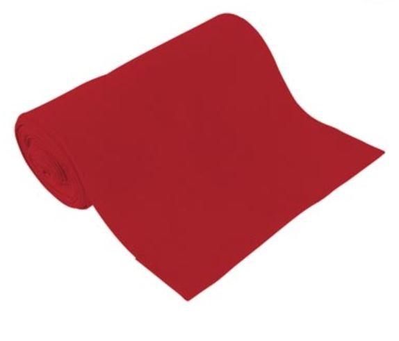BIO Bündchen Uni Rot