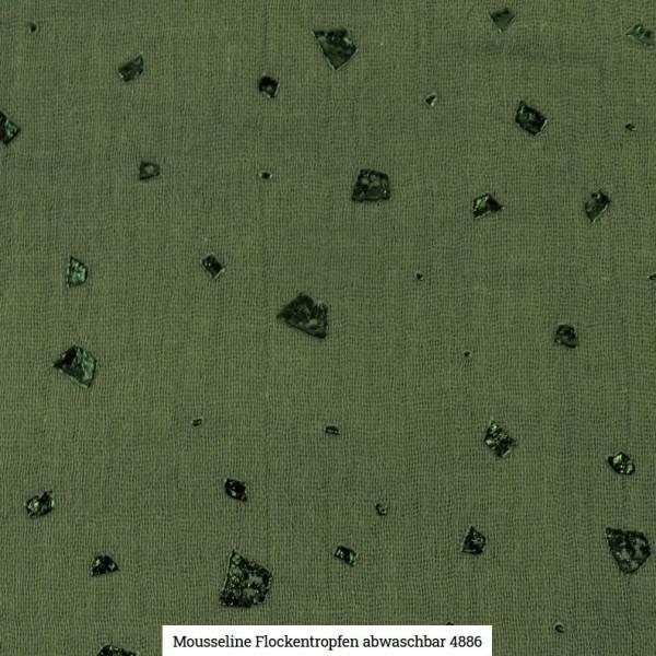 Musselin Flocken Glitter Artikelnr.:SL4886-28