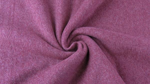 Baumwoll Double Fleece Lila Traube
