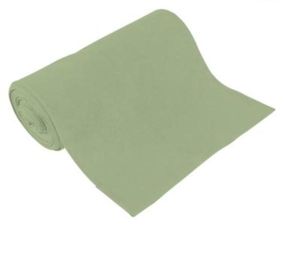BIO Bündchen Uni Schaumgrün