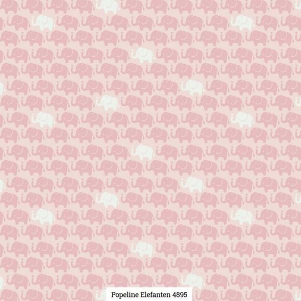 Popeline Druck Elefanten Artikelnr.:SL4895-1611