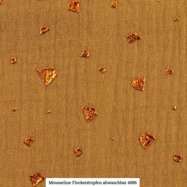 Musselin Flocken Glitter Artikelnr.:SL4886-1352