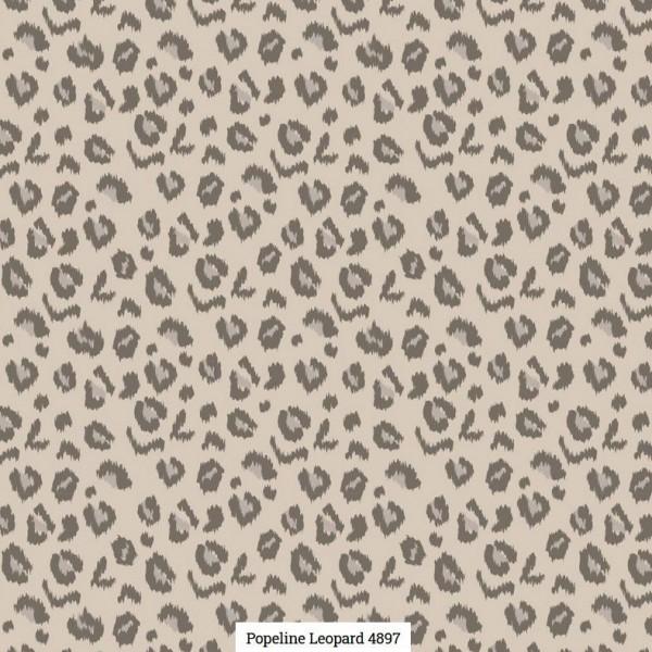 Popeline Druck Leopard Artikelnr.:SL4897-1653