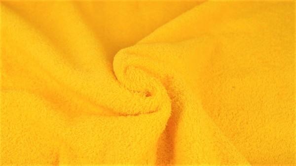 Frottee Uni Gelb