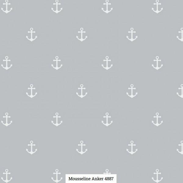 Musselin Druck Anker Artikelnr.:SL4887-1264