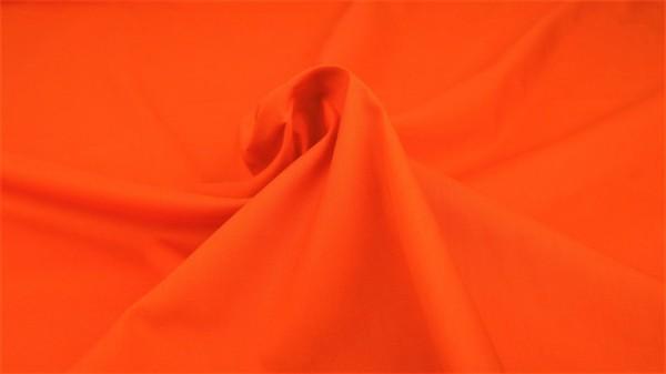 Popeline Uni Orange