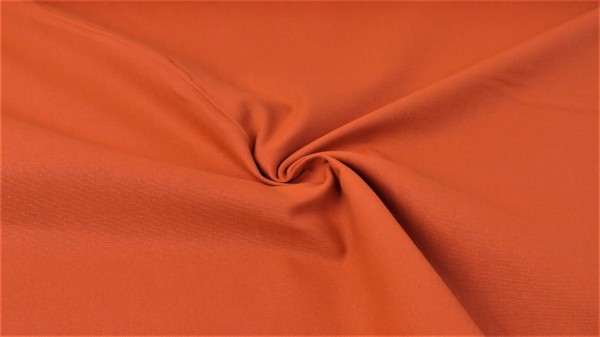 Washed Canvas Uni Dunkel Orange