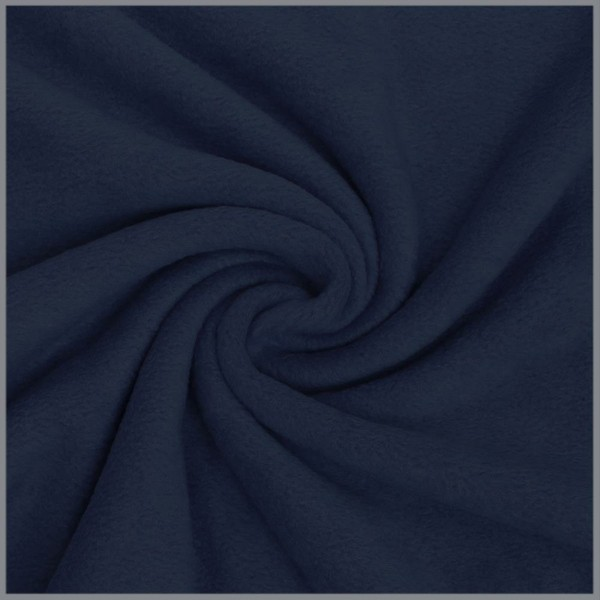 Antipilling Fleece dunkelblau
