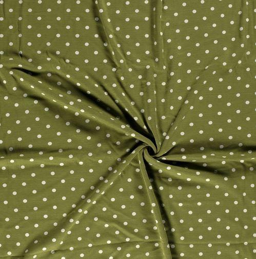 Alpenfleece Punkte Limette