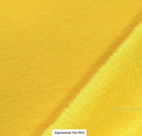 Alpensweat Uni Gelb Artikelnr.:SL9941-434