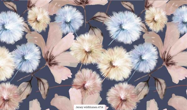 Jersey Digi Wildblumen Artikelnr.:SL4714-1508