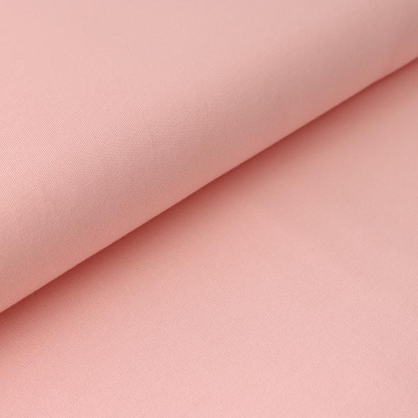 Jersey Uni Pastellrosa