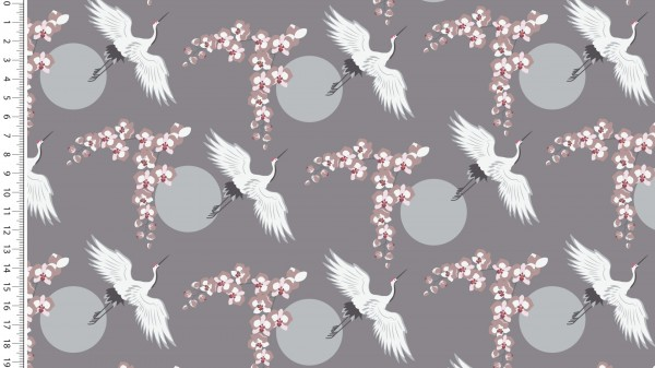 Modal FT Lady Looks Cranes Grau