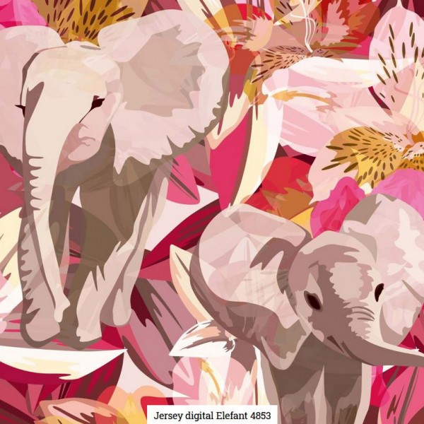Jersey Digital Elefant Artikelnr.:SL4853-1213