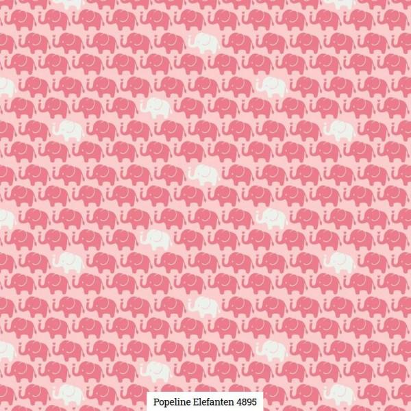 Popeline Druck Elefanten Artikelnr.:SL4895-1616