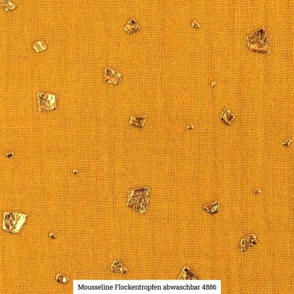 Musselin Flocken Glitter Artikelnr.:SL4886-434