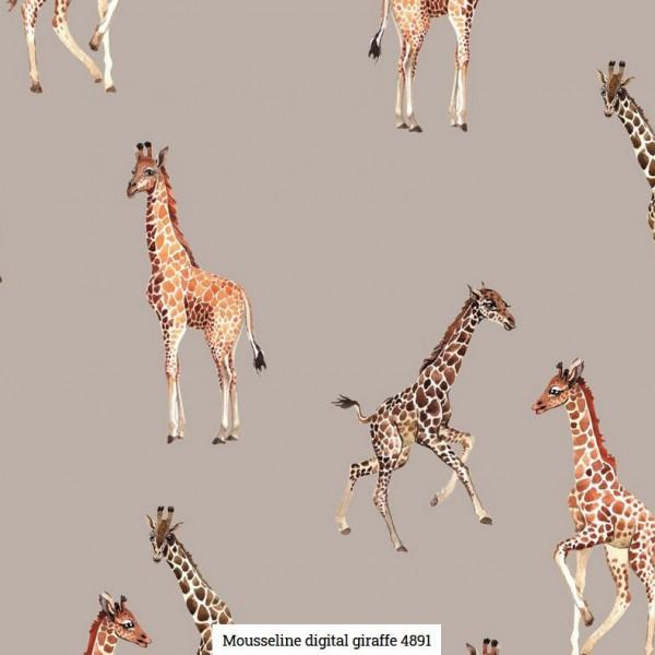 Musselin Digital Giraffe Artikelnr.:SL4891-1553