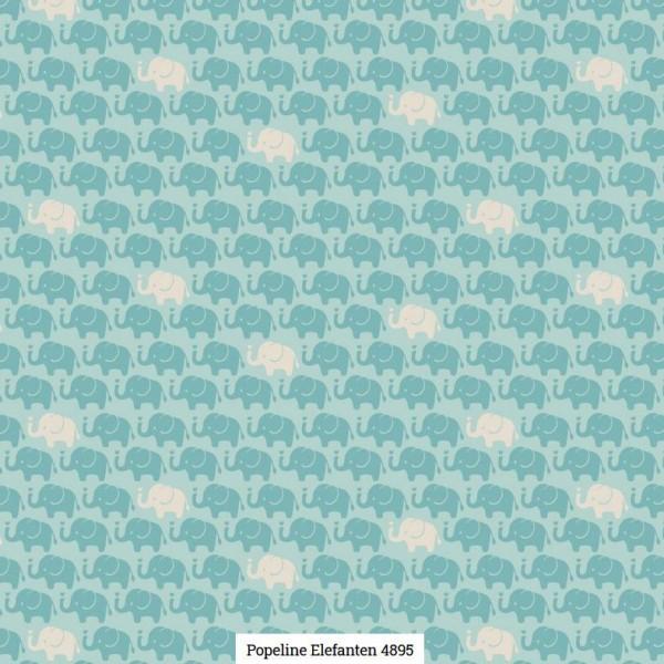 Popeline Druck Elefanten Artikelnr.:SL4895-426