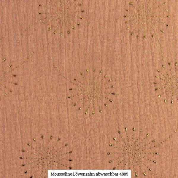 Musselin Pusteblume Glitter Artikelnr.:SL4885-1511